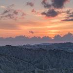 calanchi del piceno tramonto