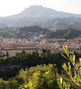 Monte Ascensione visto da Ascoli Piceno